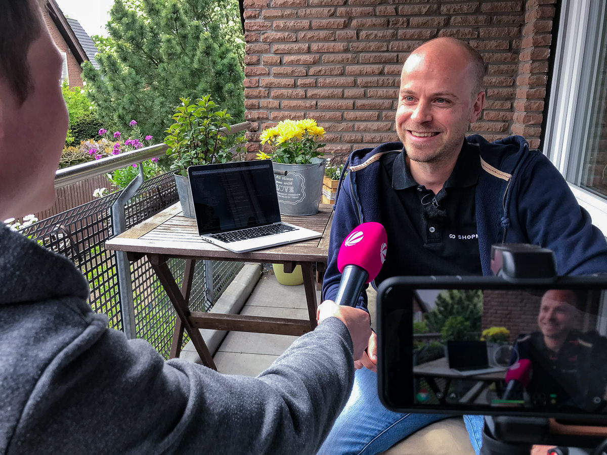 Udo Telaar Interview SAT1