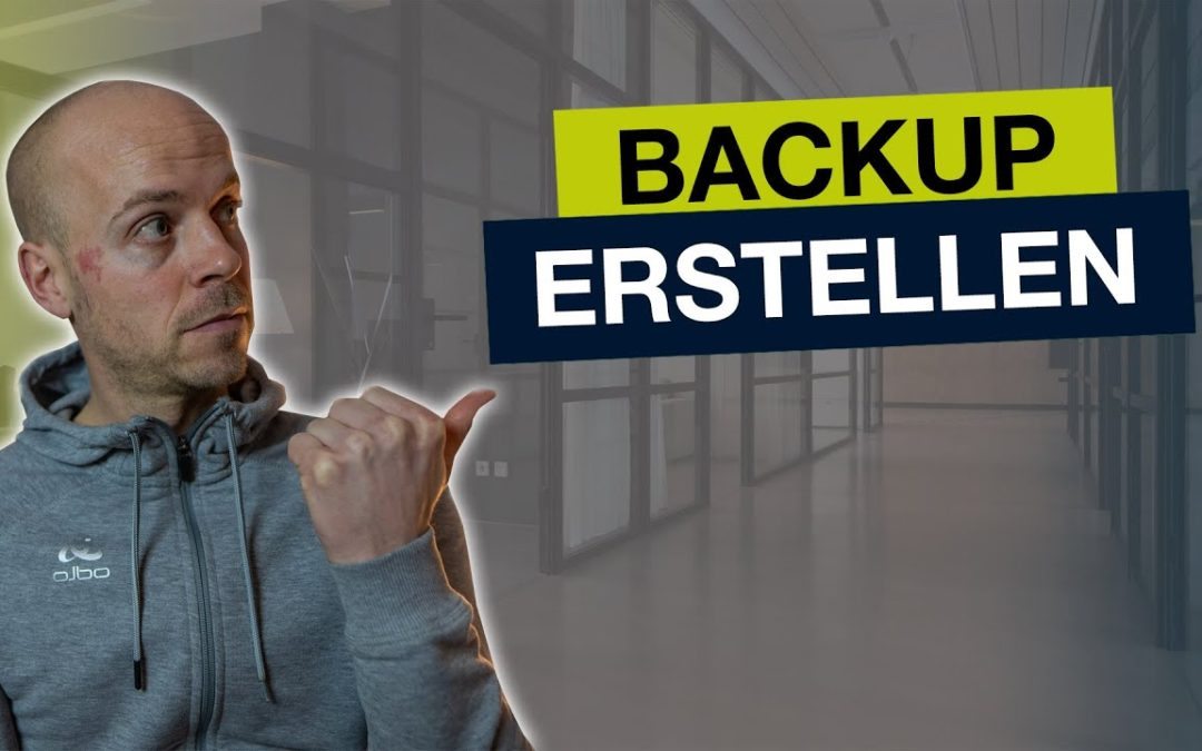 WordPress Backup erstellen